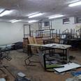 Shelter in Jisr al-Zarqa Photo: Hassan Shaalan