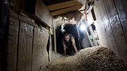 Gaza smuggling tunnel Photo: EPA