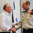 Dichter with Eisenberg Photo: Eyal Bason, Defense Ministry