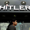Shop owner says his grandfather was nicknamed Hitler Photo: EPA