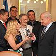 Netanyahu on Monday Photo: Moshe Milner, GPO