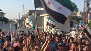 Homs children protest against Assad Photo: Reuters