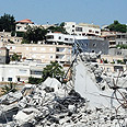 Demolition site Photo: Alarab.net