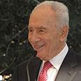 President Shimon Peres Photo: Mark Neiman, GPO