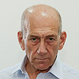 No Turpitude: Olmert Photo: Omer Meron