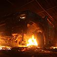 Scene of Benghazi attack Photo: Reuters
