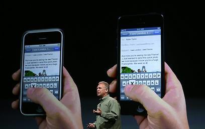 ישן (משמאל) מפני חדש (מימין) תוציאו (צילום: AFP)