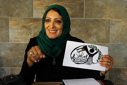 מפלגת נשים פלסטינית ראשונה בבחירות המקומיות בחברון (צילום: AP)