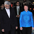 Ashton and Jalili Photo: AFP