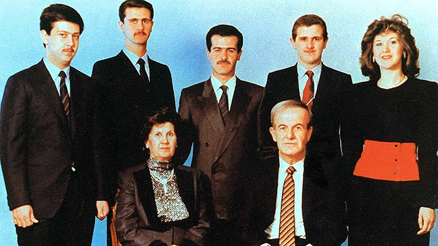 The Assad family (Photo: EPA)