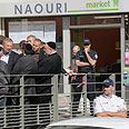 Attack on kosher grocery in Paris suburb of Sarcelles Photo: AP