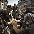 Injured in Syrian city of Aleppo (Archives) Photo: AFP