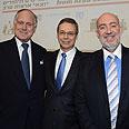 Israel's representatives at UN conference Photo: Shahar Azran