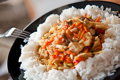אורז לבן. הנפוץ ביותר, והקל ביותר להכנה (צילום: shutterstock)