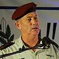 IDF Chief of Staff Lt.-Gen Benny Gantz Photo courtesy of the IDF Spokesperson's Unit