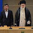 Ahmadinejad (L) with Khamenei (archives) Photo: AP