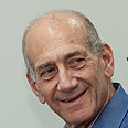 Ehud Olmert Photo: Omer Meron