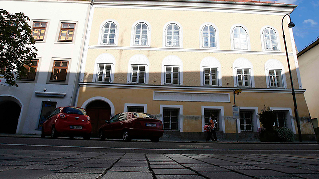 Hitler's home in Braunau (Photo: Reuters)