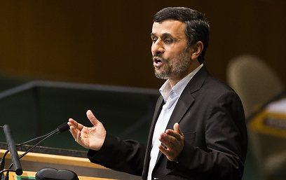 Iranian President Mahmoud Ahmedinejad at the UN (Photo: AP)