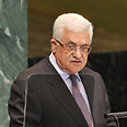 Abbas at UN Photo: AFP