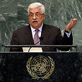 Abbas at the UN General Assembly Photo: AP