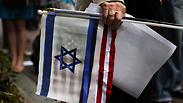 Pro-Israel rally in New York Photo: AFP