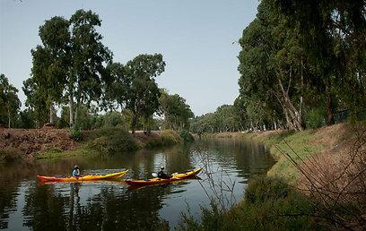 פארק הירקון. נוף לפארק מקפיץ את ערך הנכס (צילום: ירון ברנר)