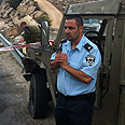 Site of attack Photo: Shai District Police