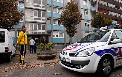 Anti-terror raid in Strasbourg (Photo: AFP)