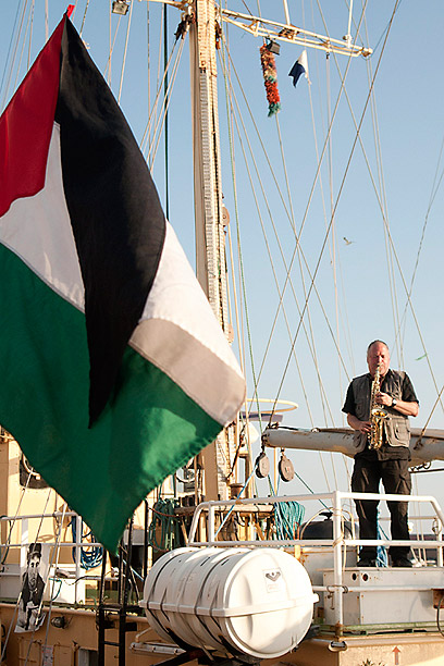 Swedish flotilla to Gaza in 2012 (Photo: AFP)