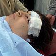 Malala Yousufzai after the shooting Photo: Reuters
