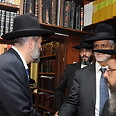 Yishai with Deri Photo: Shuki Lerer