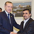 Frenemies? Ahmadinejad and Erdogan Photo: Reuters