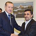 Frenemies? Ahmadinejad and Erdogan Photo: Reuters
