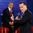 Obama-Romney debate Photo: Reuters