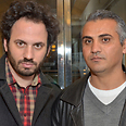 '5 Broken Cameras' co-directors Guy Davidi and Emad Burnat Photo: David Godlis