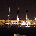 'Estelle' docks at Ashdod Port Photo: Avi Rokach