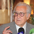 Lakhdar Brahimi Photo: EPA