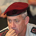 IDF chief Gantz Photo: Moti Kimchi
