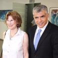 Yair Lapid with Yael German Photo: Motti Kimchi