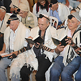 Not a single eye remained dry. Bar mitzvah boys Photo: Western Wall Heritage Foundation, courtesy of Ramat Hasharon Municipality spokesman