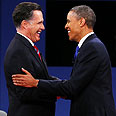 Romney and Obama Photo: AFP