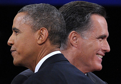 Obama and Romney in final debate (Photo: AFP)