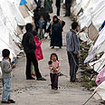Refugees camp in Turkey Photo: EPA