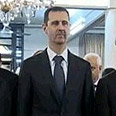 Assad leaves palace to pray, Friday Photo: Reuters