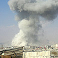 Syria, up in flames Photo: AFP