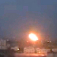 Rocket launched. Image from Hamas video