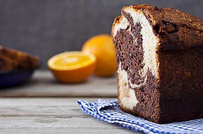 עוגת שיש תפוז (צילום: שירן כרמל)