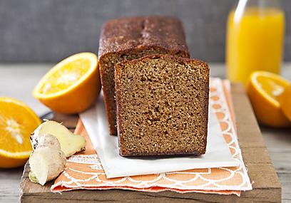 עוגת ג'ינג'ר תפוז (צילום: שירן כרמל)