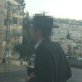 Suspect was photographed by soldier Photo: Haleli Yitzhak